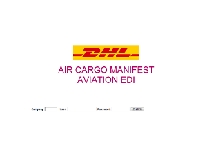 Captura de la web DHL